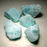 Aragonite Blue rough pieces