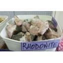 Rhodonite rough pieces