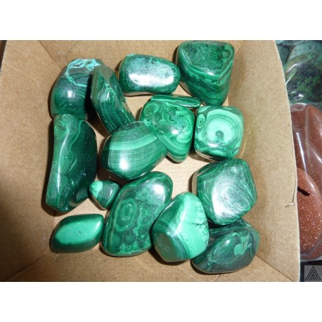 Tumbled Large Malachite