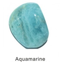 Tumbled Aquamarine Crystal