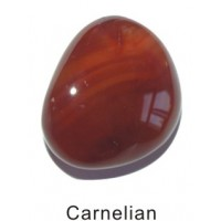Tumbled Carnelian Crystal