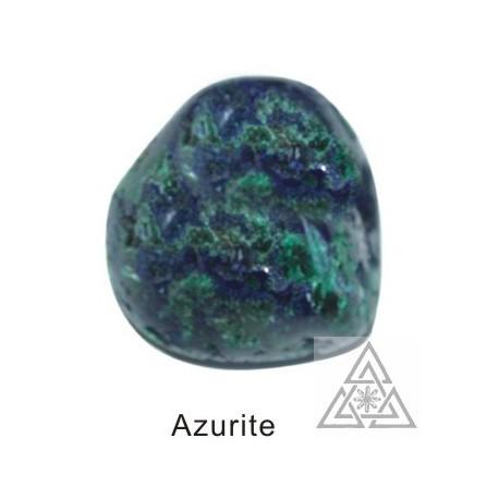 Tumbled Azurite