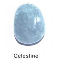 Tumbled Celestite
