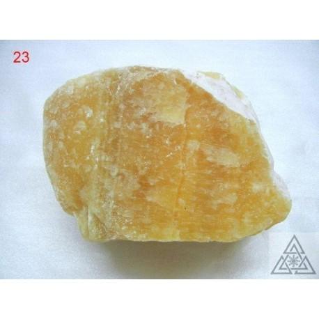 Orange Calcite rough pieces
