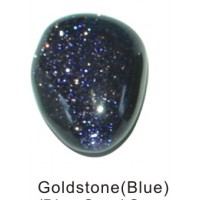 Tumbled Goldstone Blue