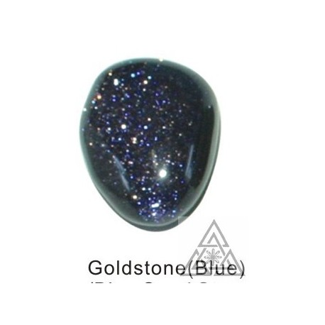 Tumbled Goldstone