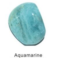 Tumbled Aquamarine