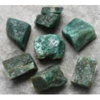 Fuchsite rough pieces