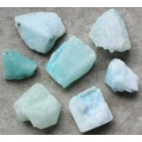 Aragonite Blue rough pieces