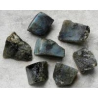 Labradorite rough pieces
