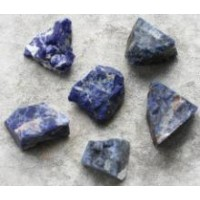Sodalite rough pieces