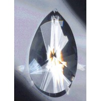 Star Crystal Prism Pear